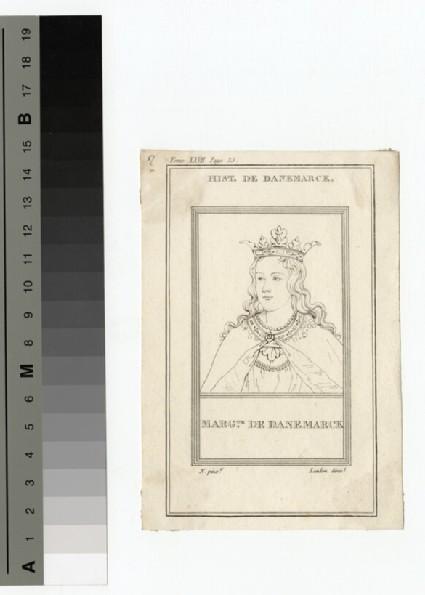Portrait of Margaret of Denmark