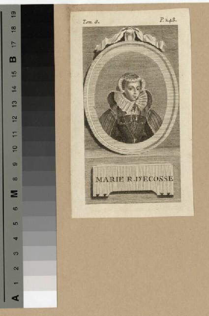 Portrait of Marie Reine.D'Ecosse (Mary Queen of Scots)