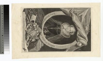 Portrait of MARIA SCOTORV REGIN..ET FRANCIAE DOTORIA. (Mary Queen of Scots)