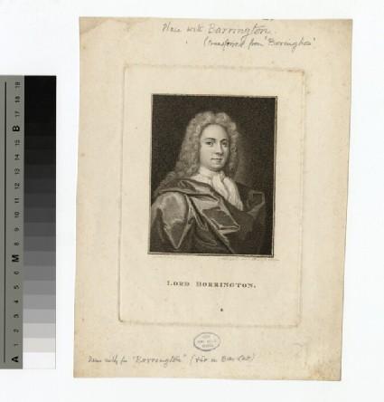 Portrait of Lord Barrington
