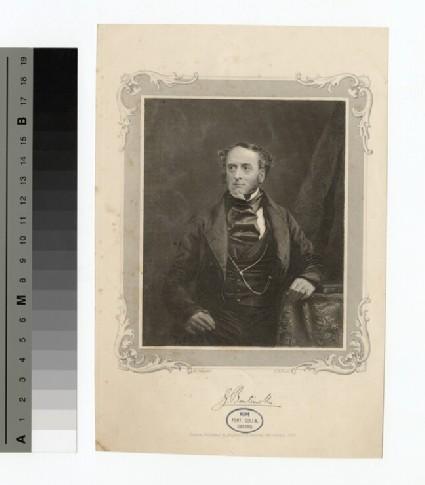 Portrait of Lord G. Bentinck