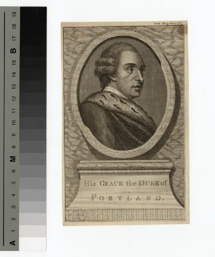 Portrait of Duke of Portland