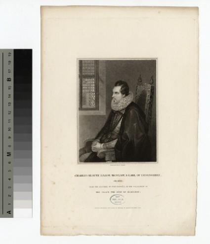 Portrait of Earl Devonshire