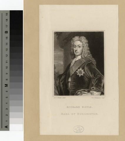 Portrait of Earl of Burlington