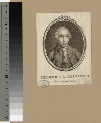 Portrait of Frederick Calvert, 6th Baron Baltimore