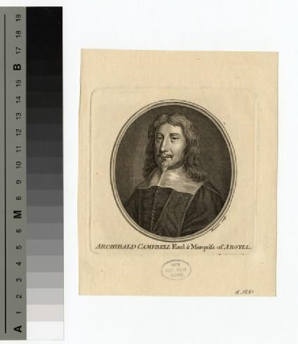 Portrait of Marquis Argyll