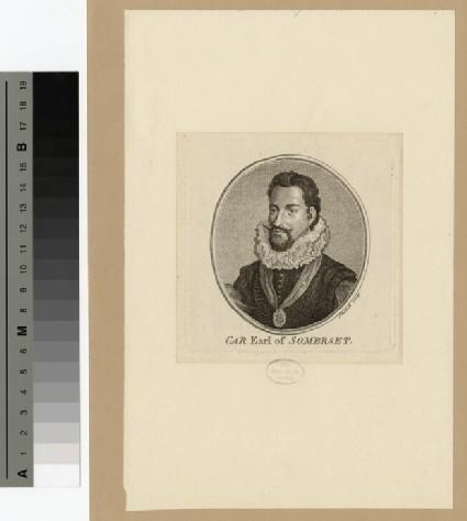 Portrait of Earl Somerset