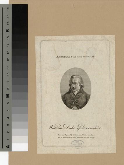 Portrait of William Cavendish, 5th Duke of Devonshire