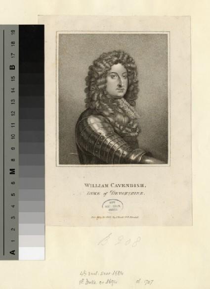Portrait of Duke Devonshire