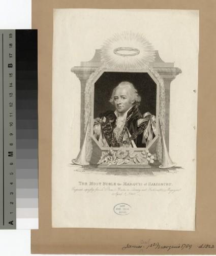 Portrait of 1st Marquis Salisbury