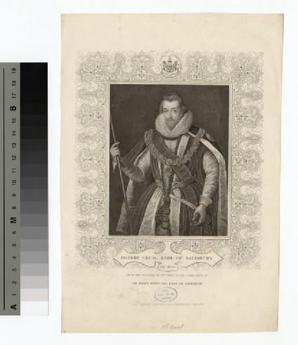 Portrait of 1st Earl Slisbury