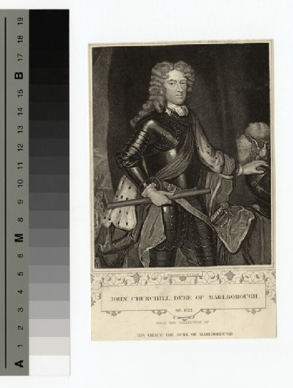 Portrait of John Churchill, 1st Duke of Marlborough