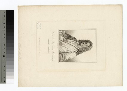Portrait of Earl Shaftesbury