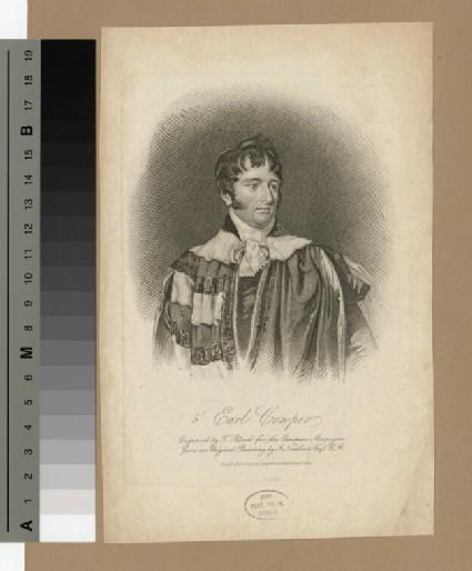 Portrait of Peter Leopold Louis Francis Nassau Clavering-Cowper, 5th Earl Cowper
