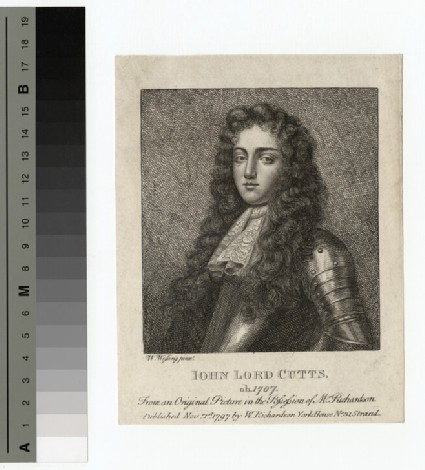 Portrait of Lord Cutts