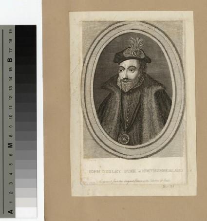 Portrait of Duke of Northumberland