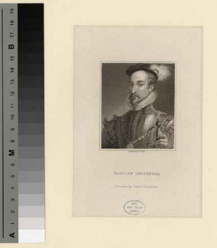 Portrait of Earl of Leicester