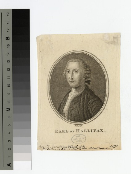 Portrait of Hallifax