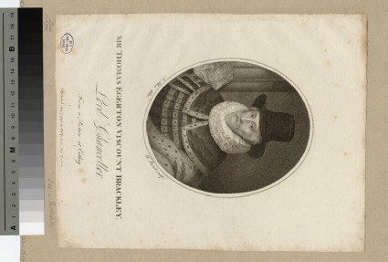 Portrait of VisCount Brackley
