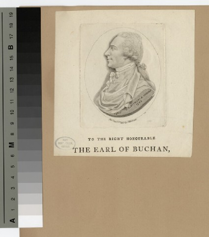 Portrait of Earl Buchan