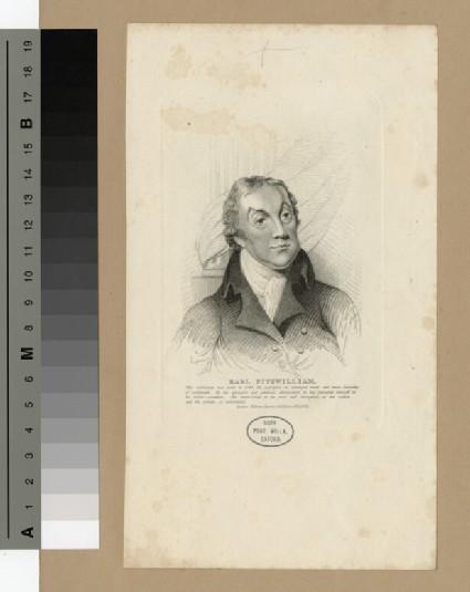 Portrait of Earl Fitzwilliam