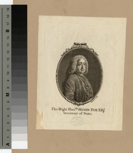 Portrait of Henry Fox