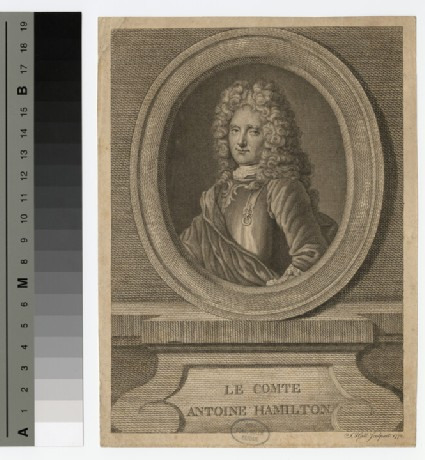 Portrait of Antoine Hamilton
