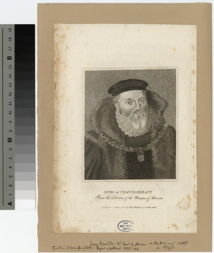 Portrait of James Hamilton, Duke of Châtellerault