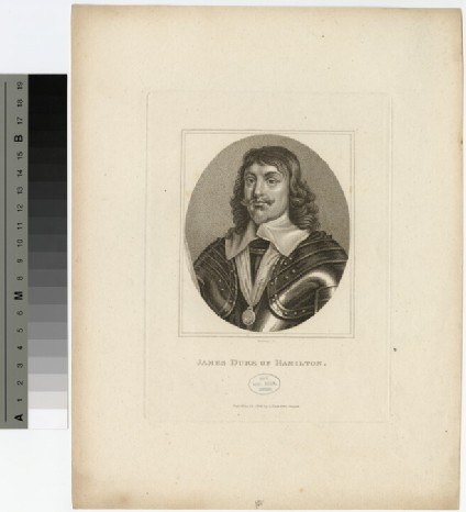 Portrait of James Hamilton, 1st Duke of Hamilton