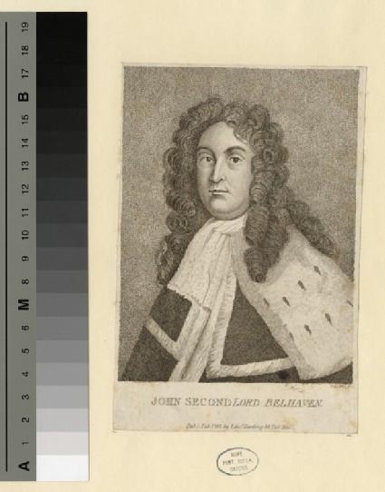 Portrait of John Hamilton, 2nd Lord Belhaven and Stenton