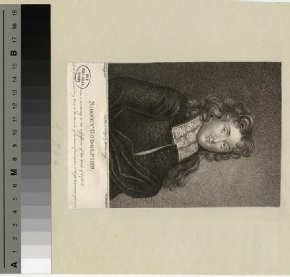 Portrait of Sidney Godolphin