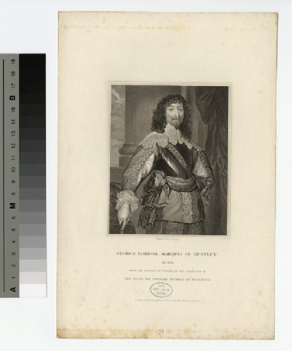 Portrait of Marquis of Huntly