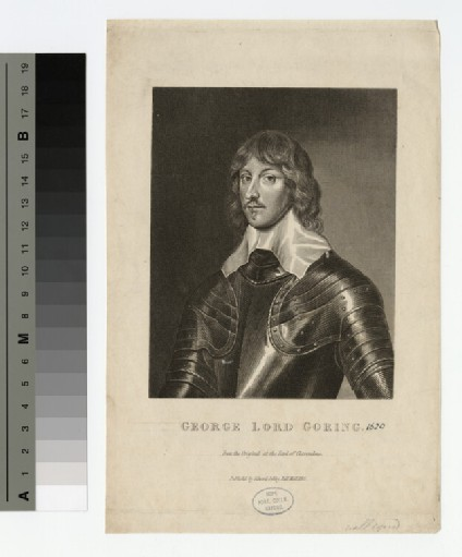 Portrait of Lord Goring