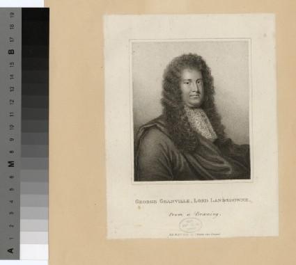 Portrait of Lord (Granville) Lansdowne