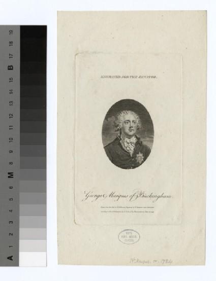 Portrait of Marquis Buckingham