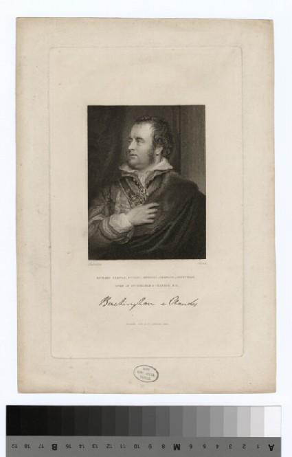 Portrait of Richard Grenville, 1st Duke of Buckingham and Chandos