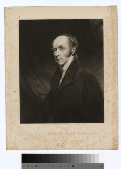 Portrait of Charles Grey, 2nd Earl Grey