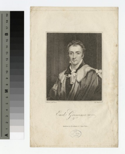 Portrait of 1st Marquis Westminster