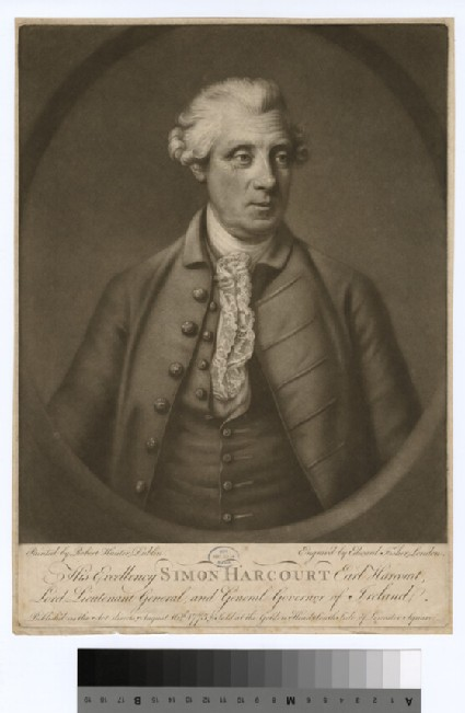 Portrait of Simon Harcourt, 1st Earl Harcourt