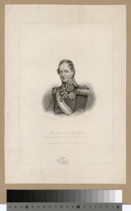 Portrait of VisCount Hardinge