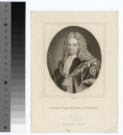 Portrait of 1st Earl Oxford