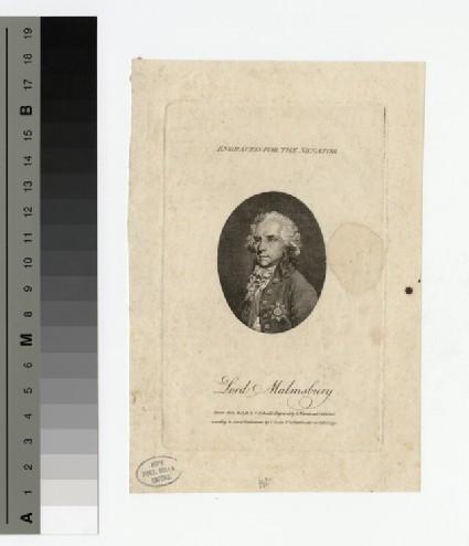 Portrait of Lord Malmesbury