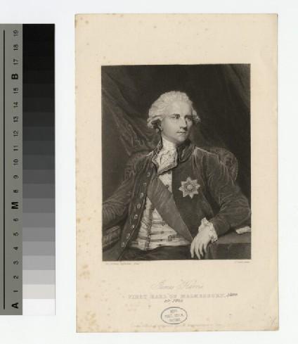 Portrait of Earl Malmesbury