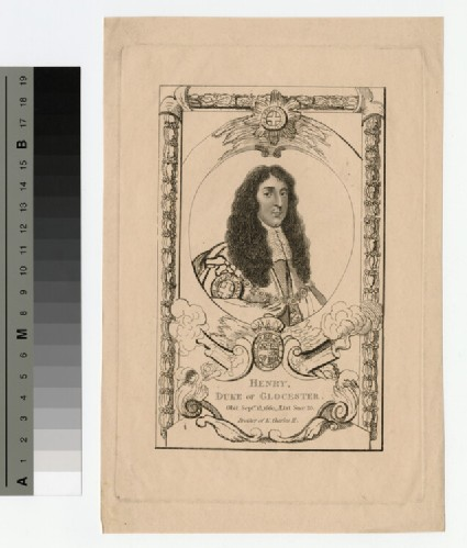Portrait of Henry, Duke of Gloucester
