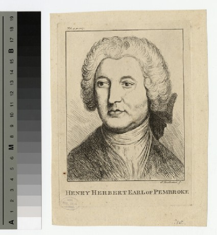 Portrait of Henry Herbert, 9th Earl of Pembroke