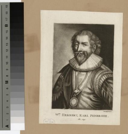 Portrait of William Herbert, 3rd Earl of Pembroke