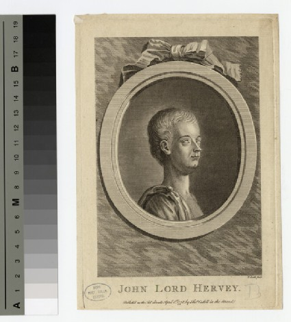 Portrait of Lord John Hervey