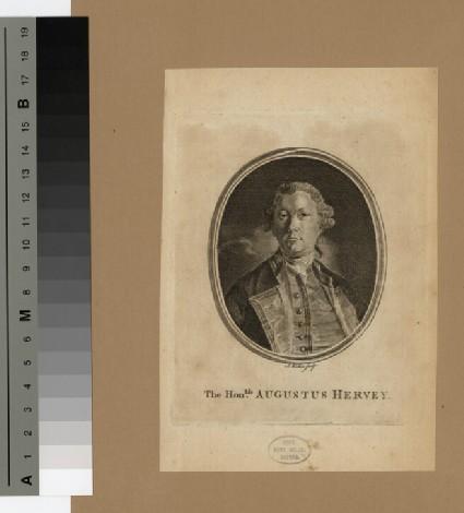 Portrait of Augustus Hervey, 3rd Earl of Bristol