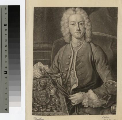 Portrait of Lord John Hervey