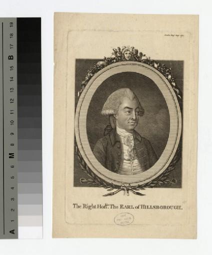 Portrait of Earl Hillsborough